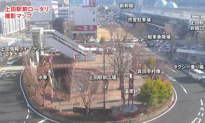 UCV上田駅前ロータリーHDライブ...